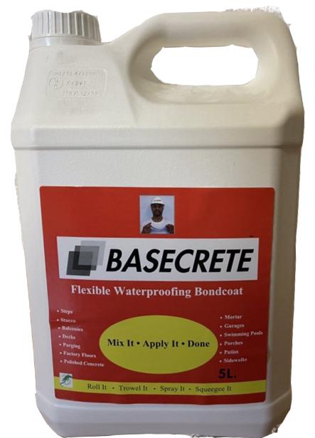 bidon de 5 litres de résine Basecrete